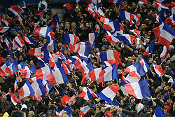 29.03.2016, Stade de France, St. Denis, FRA, Testspiel, Frankreich vs Russland, im Bild // during the International Friendly Football Match between France and Russia at the Stade de France in St. Denis, France on 2016/03/29. EXPA Pictures © 2016, PhotoCredit: EXPA/ Pressesports/ Jerome Prevost<br /> <br /> *****ATTENTION - for AUT, SLO, CRO, SRB, BIH, MAZ, POL only*****