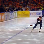 NLD/Heerenveen/20060122 - WK Sprint 2006, 2de 500 meter heren, Beorn Nijenhuis - Joey Cheek