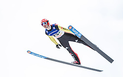 11.01.2014, Kulm, Bad Mitterndorf, AUT, FIS Ski Flug Weltcup, Bewerb, im Bild Andreas Wank (GER) // Andreas Wank (GER) during the FIS Ski Flying World Cup at the Kulm, Bad Mitterndorf, Austria on <br /> 2014/01/11, EXPA Pictures © 2014, PhotoCredit: EXPA/ JFK