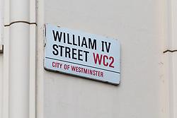 Royal Mail - William IV Street, Westminster. London, April 25 2018.