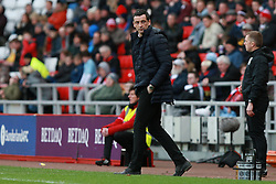 March 16, 2019 - Sunderland, Tyne and Wear, United Kingdom - Sunderland manager Jack Ross during the Sky Bet League 1 match between Sunderland and Walsall at the Stadium Of Light, Sunderland on Saturday 16th March 2019. (Credit: Steven Hadlow | MI News) (Credit Image: © Mi News/NurPhoto via ZUMA Press)