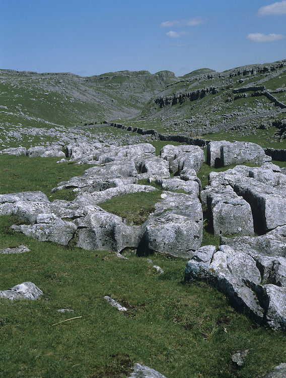 Limestone Pavement, Malham Tarn, Yorkshire, UK