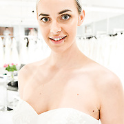 Lois Wild stand D63 at White Gallery at London Bridal Fashion Week at London Excel on 25 March 2019, UK.