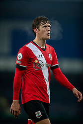 LIVERPOOL, ENGLAND - Monday, March 1, 2021: Southampton's Jannik Vestergaard looks dejected after the FA Premier League match between Everton FC and Southampton FC at Goodison Park. Everton won 1-0. (Pic by David Rawcliffe/Propaganda)