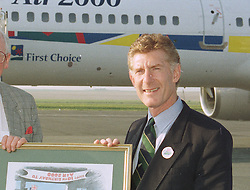 MR KEN SMITH M/D of Air 2000, at a luncheon in France on April 23rd 1997.LXX 81 MORO