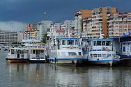 Tulcea river port, Danube delta, Romania