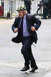 Downing Street, London June 2nd 2015. Boris Johnson arrives at 10 Downing Street to attend the weekly Cabinet Meeting.