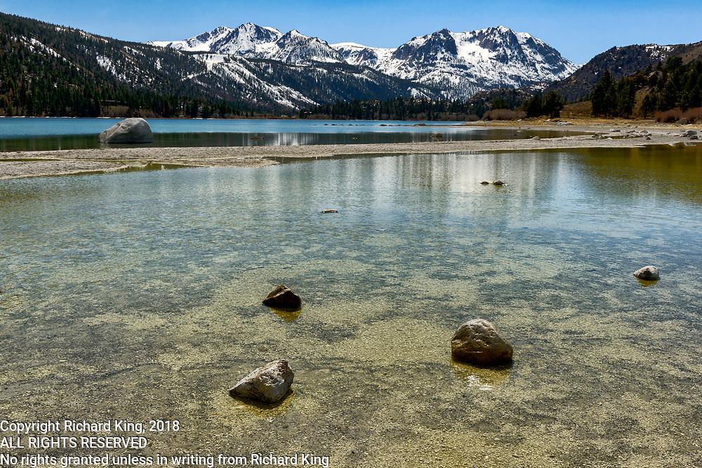 East Sierra landscape images from June Lake Loop, California