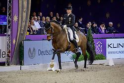 SCHMIDT Hubertus (GER), Escolar<br /> Frankfurt - Festhallen Reitturnier 2019<br /> Preis der Liselott-Schindling-Stiftung<br /> Int. Grand Prix Special – Dressurprüfung Kl. S***<br /> 21. Dezember 2019<br /> © www.sportfotos-lafrentz.de/Stefan Lafrentz