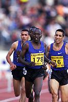 Friidrett, ExxonMobil Bislett Games 13. juli 2001. Wilson Boit Kipketer (178), kenya, løp 3000 meter hinder.