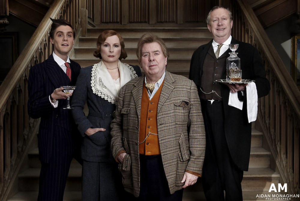 'Blandings' - BBC 2012 -  Based on celebrated stories of PG Wodehouse will be coming to life on BBC One as Timothy Spall and Jennifer Saunders star in Blandings, a new comedy series written by Guy Andrews and based on Wodehouse's work. www.aidanmonaghanphotography.com