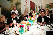 SIR JOHN MADEJSKI;GREGOR MUIR, Annual Dinner. Royal Academy of Arts. Piccadilly. London. 8 June 2010. -DO NOT ARCHIVE-© Copyright Photograph by Dafydd Jones. 248 Clapham Rd. London SW9 0PZ. Tel 0207 820 0771. www.dafjones.com.