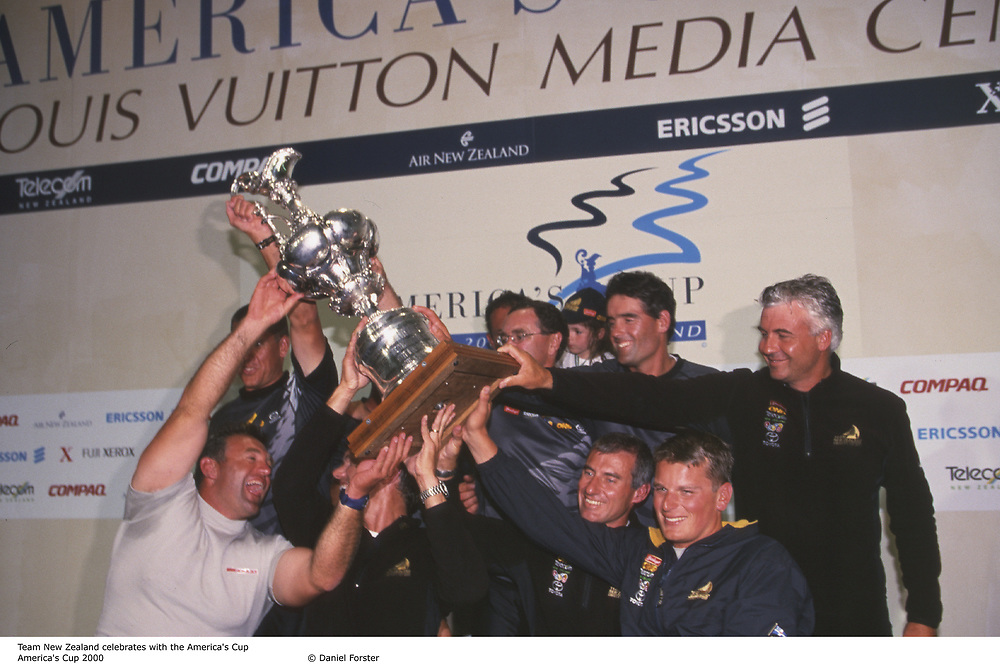 America's Cup 2000, <br /> Auckland, New Zealand<br /> Team New Zealand wins America's Cup