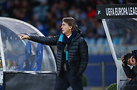 SAN SEBASTIAN, SPAIN - DECEMBER 07, 2017. 2017-18 UEFA Europa League Group L Round 6 football match: Real Sociedad (San Sebastian) - Zenit (St Petersburg) 1 - 3. Zenit St Petersburg's head coach Roberto Mancini.