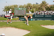 Graeme McDowell (NIR) on the 18th during Round 4 of the Saudi International at the Royal Greens Golf and Country Club, King Abdullah Economic City, Saudi Arabia. 02/02/2020<br /> Picture: Golffile   Thos Caffrey<br /> <br /> <br /> All photo usage must carry mandatory copyright credit (© Golffile   Thos Caffrey)