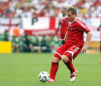 Photo: Chris Ratcliffe.<br /> England v Trinidad & Tobago. Group B, FIFA World Cup 2006. 15/06/2006.<br /> Chris Birchall from T&T.