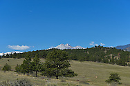 View of Longs Peak from Hall Ranch