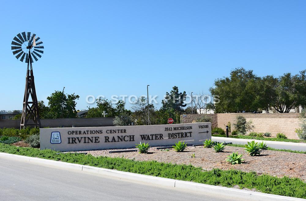 IRWD Operations Center Entrance