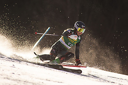 Maria Shkanova (BLR) during the Ladies' Slalom at 56th Golden Fox event at Audi FIS Ski World Cup 2019/20, on February 16, 2020 in Podkoren, Kranjska Gora, Slovenia. Photo by Matic Ritonja / Sportida