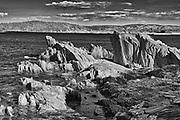 Rocky shoreline along the Atlantic Ocean. Baie Verte Peninsula.<br />Coachman's Cove<br />Newfoundland & Labrador<br />Canada<br />Coachman's Cove<br />Newfoundland & Labrador<br />Canada