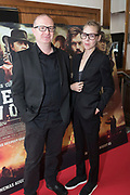 NO FEE PICTURES<br /> 22/8/19 Director Ivan Kavanagh and actress Antonia Campbell Hughes at the Irish Preview screening of Never Grow Old at the Savoy cinema in Dublin Picture: Arthur Carron