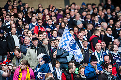 Falkirk fans..Hibernian 4 v 3 Falkirk, William Hill Scottish Cup Semi Final, Hampden Park...
