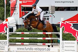 03,Springpferdeprfg. KL. M*, , Ehlersdorf, Reitanlage Jörg Naeve, 15. - 18.07.2021, Jörg Naeve (GER), Carlito H,
