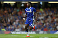Michy Batshuayi of Chelsea in action. EFL Cup 2nd round match, Chelsea v Bristol Rovers at Stamford Bridge in London on Tuesday 23rd August 2016.<br /> pic by John Patrick Fletcher, Andrew Orchard sports photography.