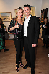 HAYLEY DAWES and DAVID INDO at a private view of artist Georgina Barclay's work entitled 'Loves & Curiosities' held at the Air Gallery, Dover Street, London on 17th November 2009