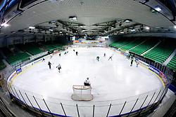 Practice of HDD Tilia Olimpija,  on October 05, 2009, in Hala Tivoli, Ljubljana, Slovenia.   (Photo by Vid Ponikvar / Sportida)