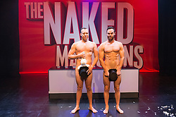 © Licensed to London News Pictures. 01/09/2016. CHRISTOPHER WAYNE and MIKE TYLER perform their show THE NAKED MAGICIANS at Trafalgar Studios. London, UK. Photo credit: Ray Tang/LNP