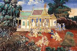 Painting of Royal Palace
