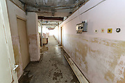 """A general view of the first-floor of the previously abandoned building of """"SOVIET Hotel"""" in Metsamor on Tuesday, Dec 28, 2020. """"SVOIET Hotel"""" is now filled with internally displaced people from Nagorno Karabakh in Metsamor. According to government statistics, there are 192 000 internally displaced people in Armenia. This figure covers displacement due to a variety of causes. However, according to IOM (International Organisation for Migration) as of Dec 2020 - an estimated 92 639 people alone were displaced as a result of military operations in areas bordering Azerbaijan due to the 44 days of war over the region of Nagorno-Karabakh. (Photo/ Vudi Xhymshiti)"""