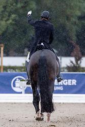 Helgstrand Andreas, DEN, Jovian<br /> World Championship Young Horses Verden 2021<br /> © Hippo Foto - Dirk Caremans<br /> 27/08/2021