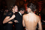 MASHA MARKOVA; BRENDA COSTA, The Jasmine Ball. One Mayfair. London In aid of the UNICEF Appeal for Syria's Children.7 March 2013.