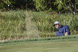 October 22, 2017 - Seogwipo, Jeju Island, South Korea - October 22, 2017-Seogwipo, Jeju Island, South Korea-Morgan Hoffmann of USA putt on the 2th bunker during an PGA TOUR CJ CUP NINE BRIDGE DAY 4 at Nine Bridge CC in Jeju Island, South Korea. (Credit Image: © Ryu Seung Il via ZUMA Wire)