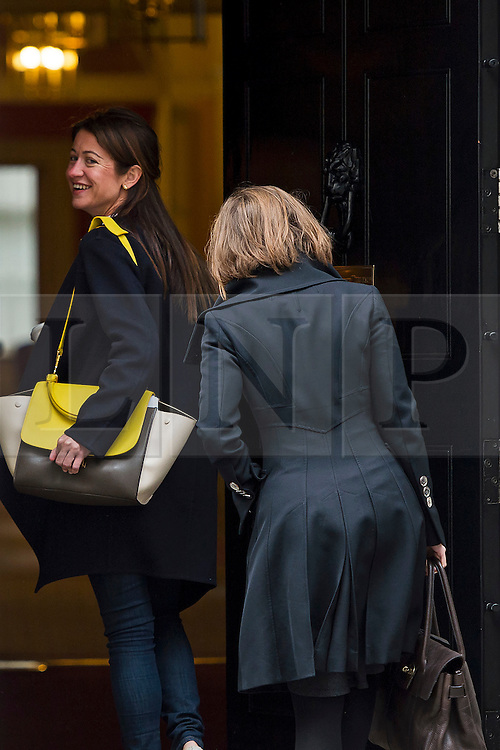 © Licensed to London News Pictures. 02/06/2015. Westminster, UK. THEA ROGERS (left), Special advisor to George Osborne, entering Number 10 Downing Street. Photo credit: Ben Cawthra/LNP