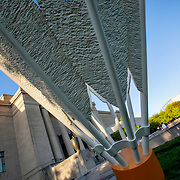 Kansas City, Missouri - One of the shuttlecock installations at the south lawn of the Nelson Atkins Museum. An approximate reshoot of something a shot 12 years ago in 2009.