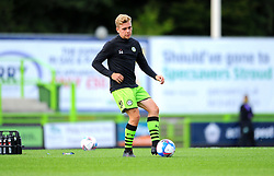 Jack Evans of Forest Green Rovers warms up- Mandatory by-line: Nizaam Jones/JMP - 05/09/2020 - FOOTBALL - New Lawn Stadium - Nailsworth, England - Forest Green Rovers v Leyton Orient - Carabao Cup