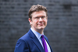 Downing Street, London, November 15th 2016.  Secretary of State for Business, Energy and Industrial Strategy Greg Clark leaves Downing Street following the weekly cabinet meeting.