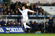 Gylfi Sigurdsson of Swansea city in action. Premier league match, Swansea city v West Ham United at the Liberty Stadium in Swansea, South Wales on Boxing Day, Monday 26th December 2016.<br /> pic by  Andrew Orchard, Andrew Orchard sports photography.