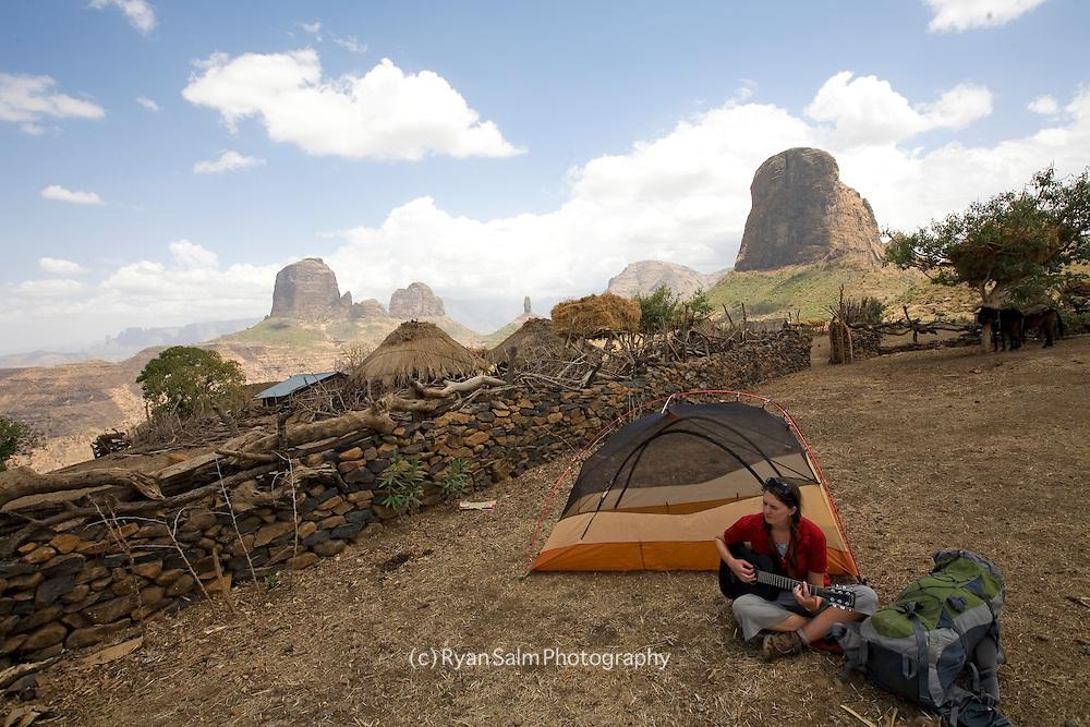 Simien Mountains trek, Ethiopia