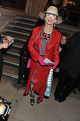 LADY HENRIETTA ROUS at a private view to celebrate the opening of the Royal Academy's exhibition of work by David Hockney held at The Royal Academy, Burlington House, Piccadilly, London on 17th January 2012.