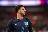 England (12) Kyle Walker during the Friendly match between England and Germany at Wembley Stadium, London, England on 10 November 2017. Photo by Sebastian Frej.