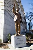 Marion Barry Statue Dedication