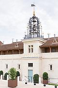 Wine label Chateau Angelus famous for luxury wine St Emilion Grand Cru, St Emilion, France