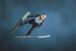 05.01.2021, Paul Außerleitner Schanze, Bischofshofen, AUT, FIS Weltcup Skisprung, Vierschanzentournee, Bischofshofen, Finale, Qualifikation, im Bild Martin Hamann (GER) // Martin Hamann of Germany during the qualification for the final of the Four Hills Tournament of FIS Ski Jumping World Cup at the Paul Außerleitner Schanze in Bischofshofen, Austria on 2021/01/05. EXPA Pictures © 2020, PhotoCredit: EXPA/ JFK