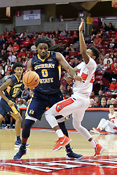 09 December 2017:  Terrell Miller Jr.  during a College mens basketball game between the Murray State Racers and Illinois State Redbirds in  Redbird Arena, Normal IL