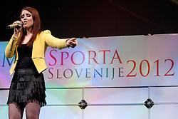Maja Keuc during event Miss Sports of Slovenia 2012, on April 21, 2012, in Festivalna dvorana, Ljubljana, Slovenia. (Photo by Urban Urbanc / Sportida.com)