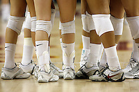 11 October 2008: Pac-10 Women's Volleyball No. 10 ranked Washington Huskies snaps No. 11 USC's Women of Troy Home Winning streak at 32 during a 3 sets to 2 set win for the Huskies who hit .409 in the final set to earn the five-set win at the Galen Center in Southern California, CA.